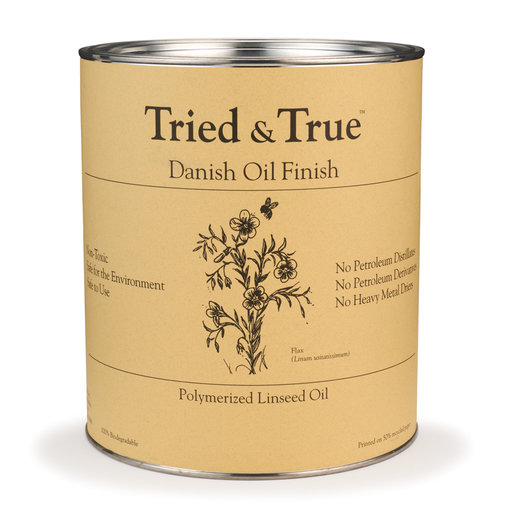 View a Larger Image of Oil Tried and True Danish Quart
