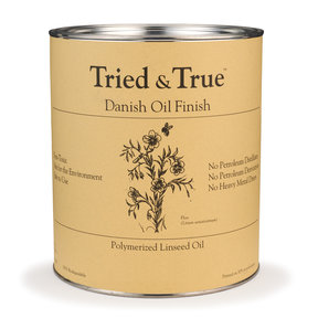 Tried & True Danish Oil, Quart