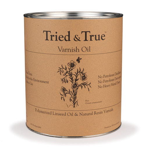 View a Larger Image of Tried & True Varnish Oil, Pint