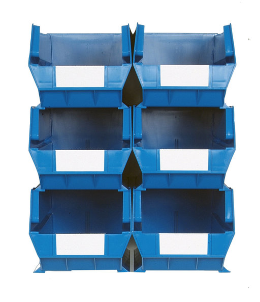 View a Larger Image of Triton Blue 8 PC Wall Storage Unit - Extra Large