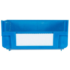 Blue Hanging, Nesting Bins with White Identification Lables, 30 Cnt
