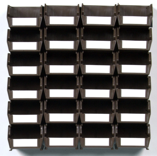 View a Larger Image of Triton Brown 26 PC Wall Storage Unit - Small