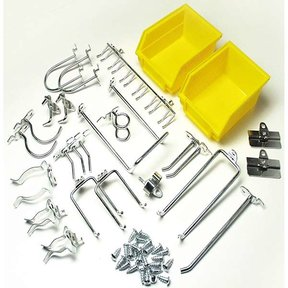 DuraHook 26 Pc Hook and Bin Assortment for Pegboard