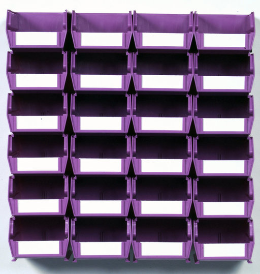 View a Larger Image of Triton Orchid 26 PC Wall Storage Unit - Small