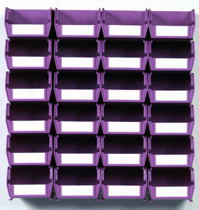 Orchid 26 PC Wall Storage Unit - Small