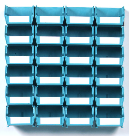 View a Larger Image of Teal 26 PC Wall Storage Unit - Small