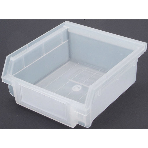 View a Larger Image of Translucent Hanging, Nesting Bins with White Identification Lables, 30 Cnt
