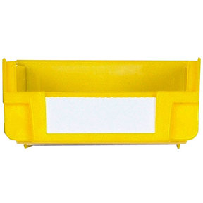 Yellow Hanging, Nesting Bins with White Identification Lables, 30 Cnt