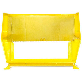 Yellow Stacking, Hanging, Interlocking Bins, 24 Cnt