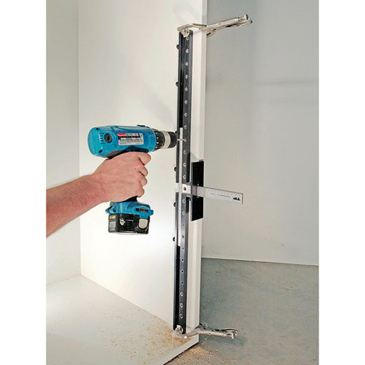 View a Larger Image of Cabinet Hardware Jig with Shelf Pin / Long Handle Jig