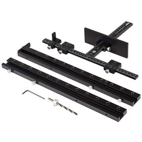 Hardware Jig with Line Boring Attachments