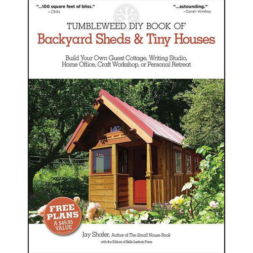 View a Larger Image of Tumbleweed DIY Book of Backyard Sheds and Tiny Houses