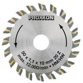 "Tungsten Tipped blade for Proxxon KS 115, 20 teeth, 2"" diameter"