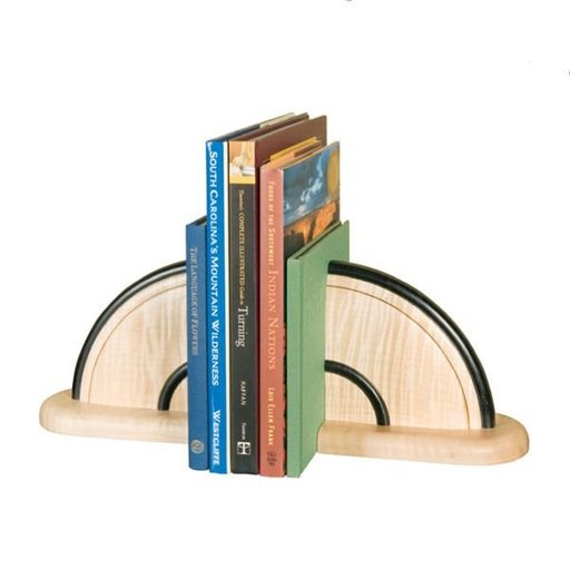 View a Larger Image of Turned Bookends - Downloadable Plan