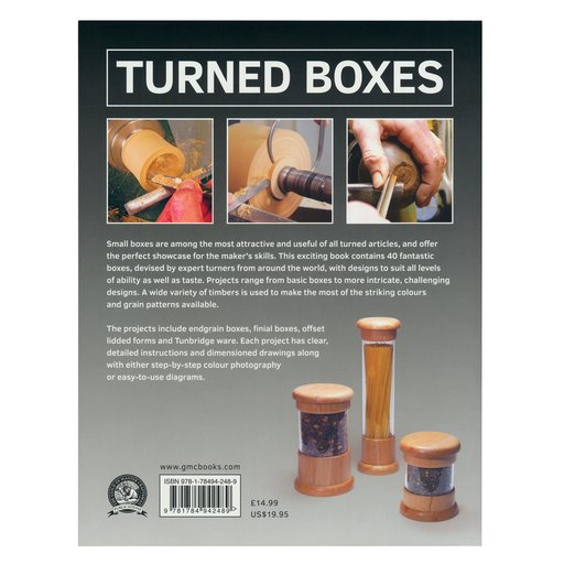 View a Larger Image of Turned Boxes