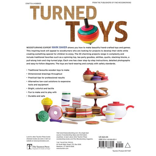 View a Larger Image of Turned Toys