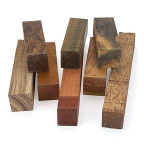 "2"" Square Wood Stock Turner's Grab Bag Assortment #2"