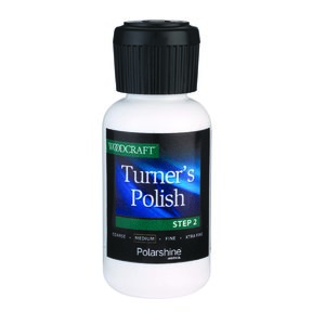 Turner's Polish Step 2 Medium Grit, 1 oz. featuring Polarshine by Mirka
