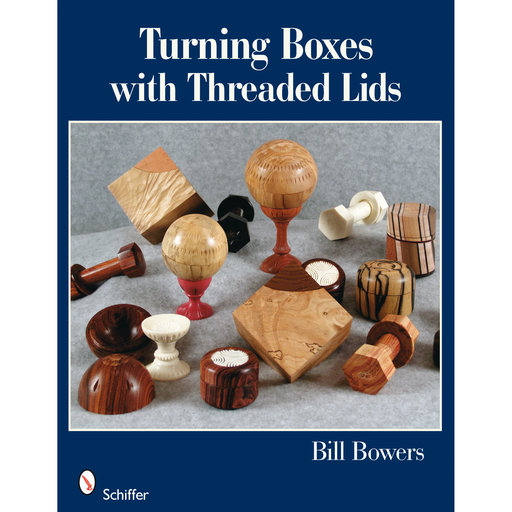 View a Larger Image of Turning Boxes with Threaded Lids