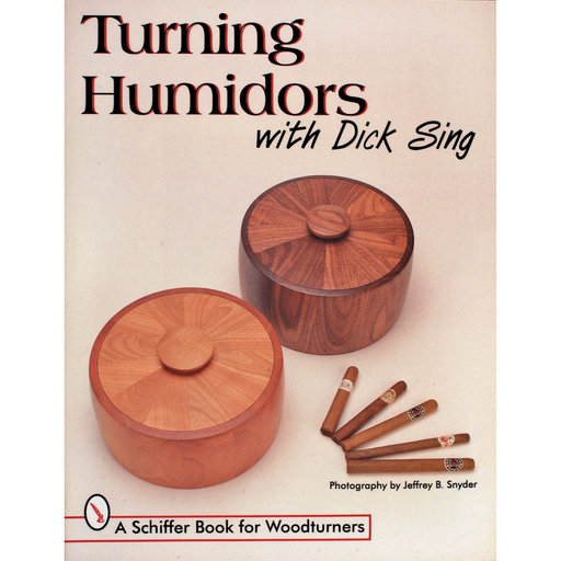 View a Larger Image of Turning Humidors with Dick Sing