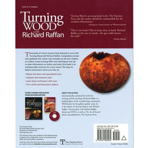 View a Larger Image of Turning Wood with Richard Raffan 3rd Ed