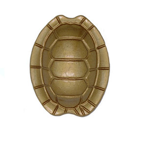 Turtle Shell Knob, Lux Gold