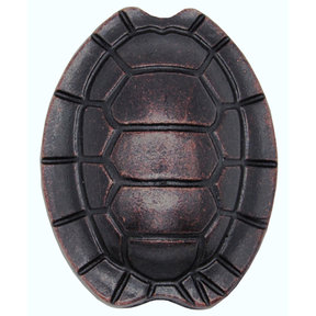 Turtle Shell Knob, Oil Rubbed Bronze
