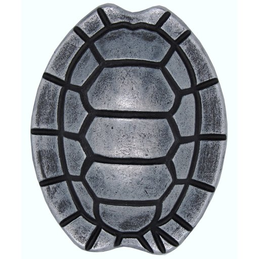 View a Larger Image of Turtle Shell Knob, Pewter Oxide