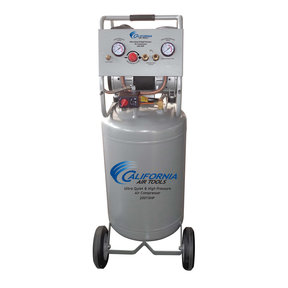 Two Stage Air Compressor, with Automatic Drain Valve, 20015HPAD, Ultra Quiet  & Oil-Free  1,5 Hp, 20 gallon 175 PSI