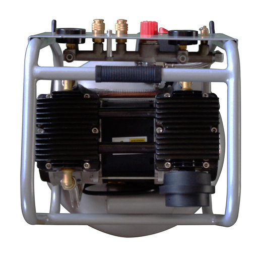View a Larger Image of Two Stage Air Compressor, with Automatic Drain Valve, 20015HPAD, Ultra Quiet  & Oil-Free  1,5 Hp, 20 gallon 175 PSI