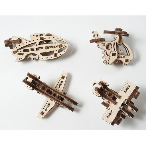 View a Larger Image of U-Fidget Aircraft Assembly Kit