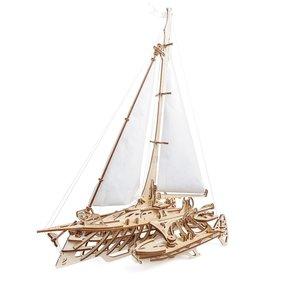 Trimaran Merihobus Sailboat Assembly Kit