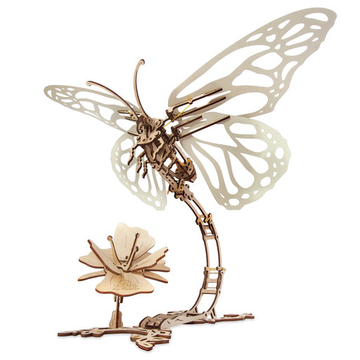 View a Larger Image of UGears Mechanical Butterfly