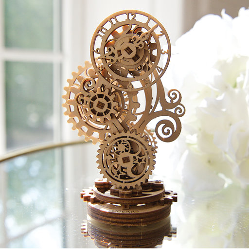 View a Larger Image of UGears Steampunk Clock