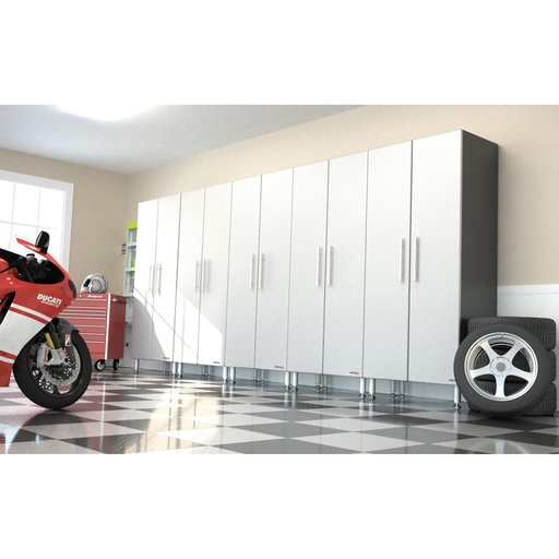 View a Larger Image of Ulti-MATE GaragePRO Five Piece Two Door Tall Cabinet Kit, Model GA-065KPC