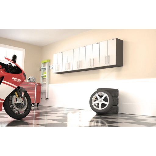 View a Larger Image of Ulti-MATE GaragePRO Five Piece Two Door Wall Cabinet Kit, Model GA-095KPC