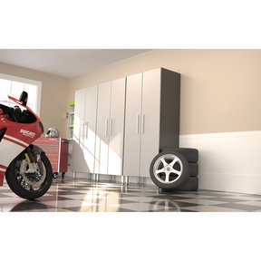 Ulti-MATE GaragePRO Three Piece Two Door Tall Cabinet Kit, Model GA-30KPC