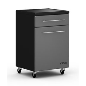Single Door Rolling Base Cabinet, Model GA-03