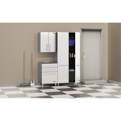 View a Larger Image of Ulti-MATE Three Piece Cabinet Kit in Starfire Pearl, Model GA-25KSW