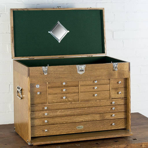 View a Larger Image of Ultimate Tool Chest - Golden Oak