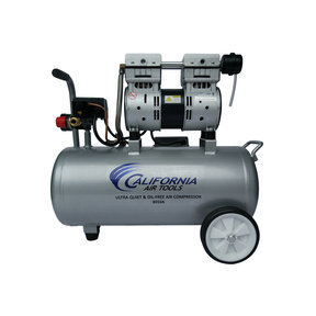 Ultra Quiet and Oil-Free 1 HP, 8 Gallon Aluminum Tank Air Compressor