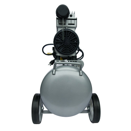 View a Larger Image of 1HP 8 Gallon Oil-Free Aluminum Tank Air Compressor