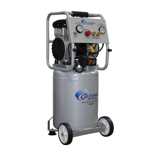 View a Larger Image of 2HP 10 Gallon Oil-Free Aluminum Tank Air Compressor