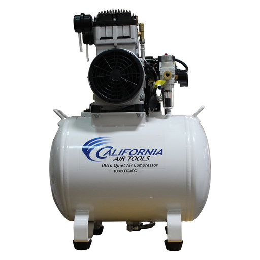View a Larger Image of 2HP 10 Gallon Oil-Free Steel Tank Air Compressor with Air Drying System