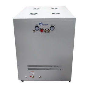Ultra Quiet and Oil-Free 4 HP, 20 Gallon Air Compressor with Air Drying System, Auto Drain in Cabinet