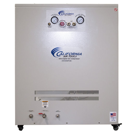 View a Larger Image of 4HP 20 Gallon Oil-Free Compressor with Drying System in Soundproof Cabinet