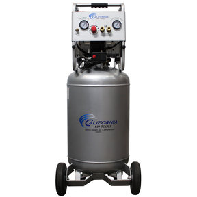 Ultra Quiet and Oil-Free Air Compressor 2 HP, 20 Gallon Steel Tank, 220V, 60 Hertz