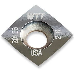 "Ultra-Shear - .44 Square 2"" Radius Insert"