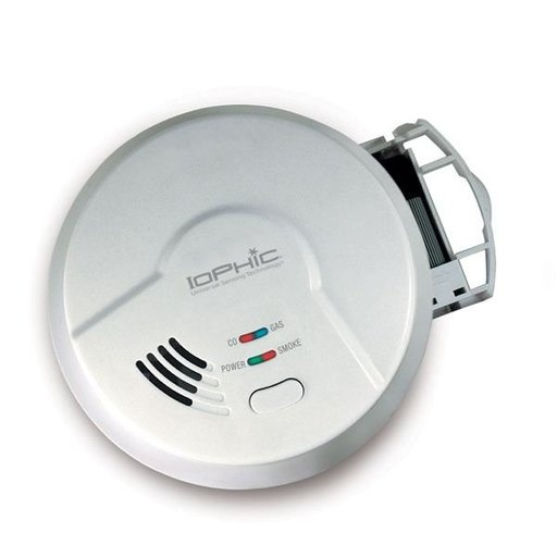 View a Larger Image of 4-in-1 Alarm for Smoke, Fire, Carbon Monoxide and Natural Gas, Model MDSCN111