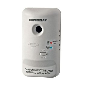 Carbon Monoxide and Natural Gas Alarm, Model MCN400B